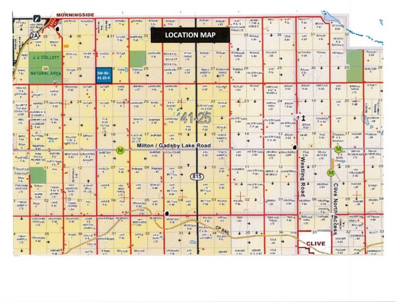 Lacombe County Map Lesher Real Estate :: 41411 Rg Rd 260   Lacombe County